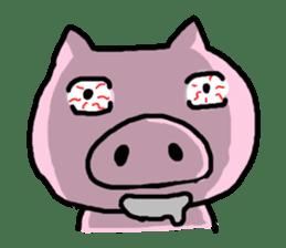 the pig which diets sticker #398963
