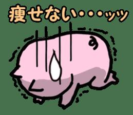 the pig which diets sticker #398967