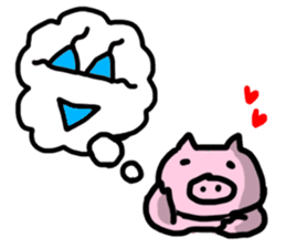 the pig which diets sticker #398976
