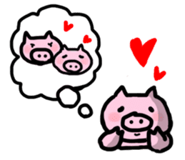 the pig which diets sticker #398977
