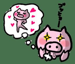 the pig which diets sticker #398978