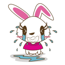 PuPu, the cheerful and sweet bunny sticker #399192