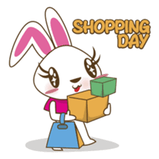 PuPu, the cheerful and sweet bunny sticker #399198