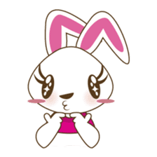 PuPu, the cheerful and sweet bunny sticker #399221