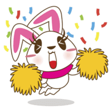 PuPu, the cheerful and sweet bunny sticker #399224