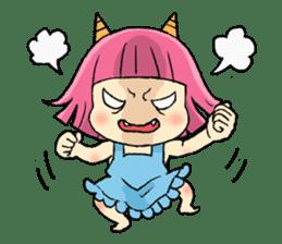 Oni Yomeko-san sticker #399425