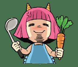 Oni Yomeko-san sticker #399426