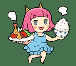 Oni Yomeko-san sticker #399429