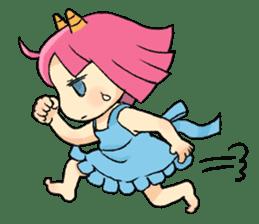 Oni Yomeko-san sticker #399432