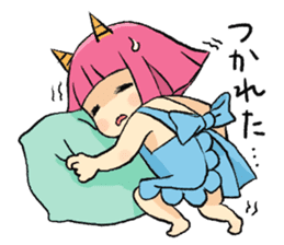 Oni Yomeko-san sticker #399435