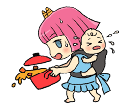Oni Yomeko-san sticker #399439