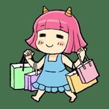 Oni Yomeko-san sticker #399440