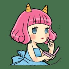 Oni Yomeko-san sticker #399450