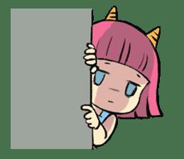 Oni Yomeko-san sticker #399454