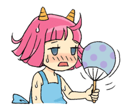 Oni Yomeko-san sticker #399456