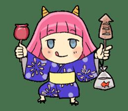Oni Yomeko-san sticker #399457