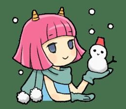 Oni Yomeko-san sticker #399459