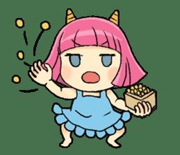 Oni Yomeko-san sticker #399461