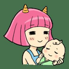 Oni Yomeko-san sticker #399464