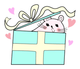 Sticker of cute mouse(Vol.1) sticker #399553