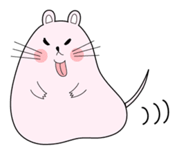 Sticker of cute mouse(Vol.1) sticker #399580