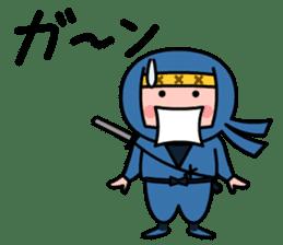 LITTLE NINJA Japanese sticker #399586