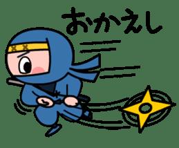 LITTLE NINJA Japanese sticker #399595