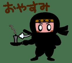 LITTLE NINJA Japanese sticker #399597