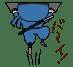 LITTLE NINJA Japanese sticker #399606