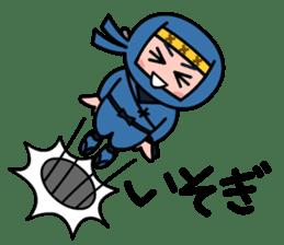 LITTLE NINJA Japanese sticker #399611