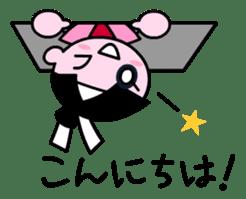 LITTLE NINJA Japanese sticker #399621