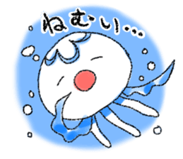Pretty jellyfish sticker #399633