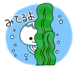 Pretty jellyfish sticker #399639
