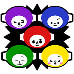 Colorful Rangers