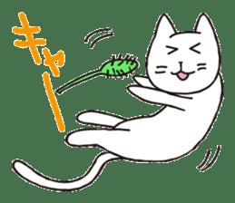 carefree cat sticker #400150