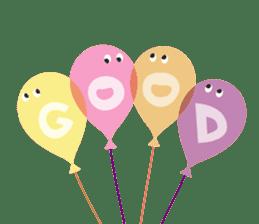 Balloon Friends vol.3 sticker #400228