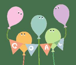 Balloon Friends vol.3 sticker #400234