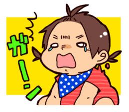Daily life of the Baby STAMP sticker #400787