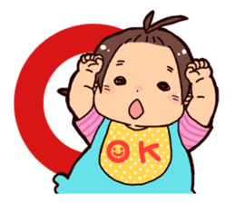 Daily life of the Baby STAMP sticker #400788