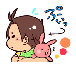 Daily life of the Baby STAMP sticker #400794