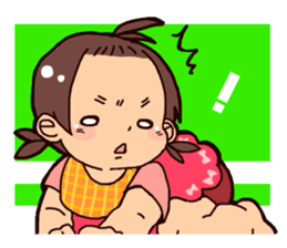 Daily life of the Baby STAMP sticker #400797