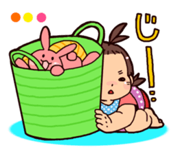 Daily life of the Baby STAMP sticker #400800