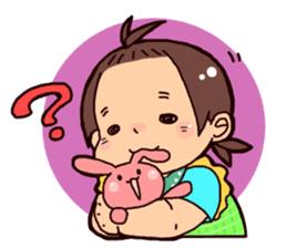Daily life of the Baby STAMP sticker #400806