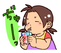 Daily life of the Baby STAMP sticker #400808