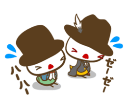 Shinshi-mushi sticker #401598