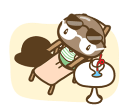 Shinshi-mushi sticker #401620