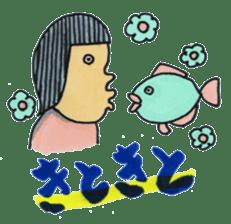 Toyama stamp sticker #402180