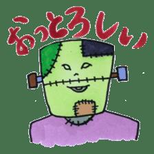 Toyama stamp sticker #402181