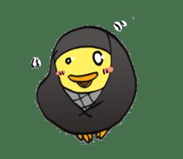 egg-samurai&chick-ninja sticker #402635