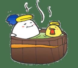 egg-samurai&chick-ninja sticker #402637